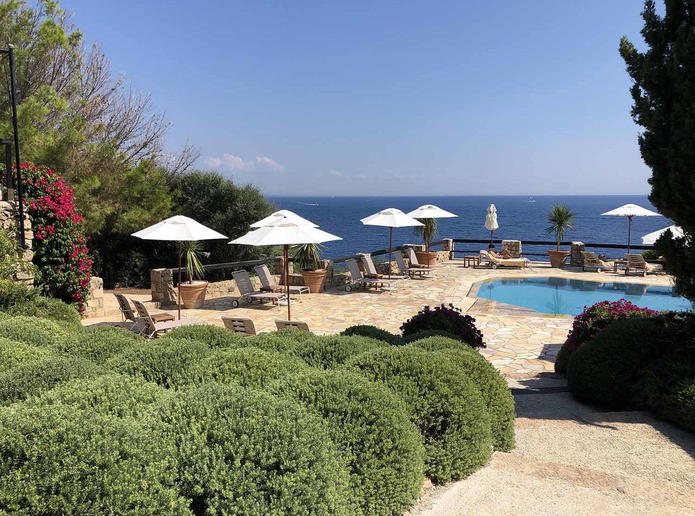 Il Pellicano Perched above the Tyrrhenian Sea,